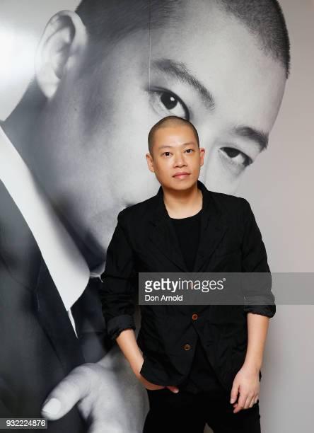 Jason Wu attends the Jason Wu Fragrance Launch on March 15 2018 in Sydney Australia