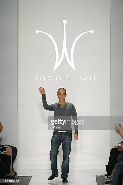 Jason Wu, designer during Olympus Fashion Week Spring 2007 - Jason Wu - Runway at The Atelier, Bryant Park in New York City, New York, United States.