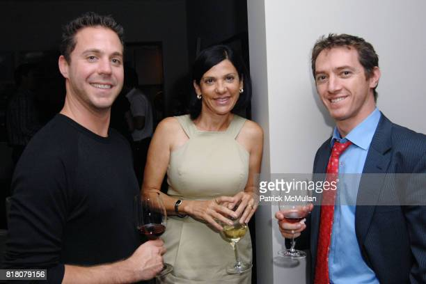 Jason Zandt Angela Mancuso and Jeremy Plager attend David Meister and Alan Siegel Host Private Party to Celebrate Alexandra Lebenthal's New Novel THE...