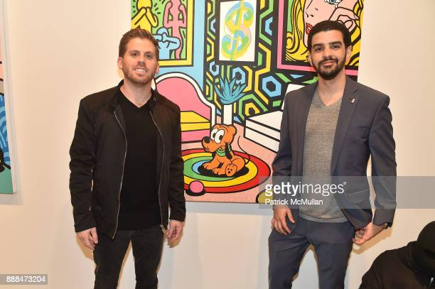 Jason Zarco and Marcelo Steinmander attend Art Miami VIP Preview at Art Miami Pavilion on December 6 2017 in Miami Beach Florida