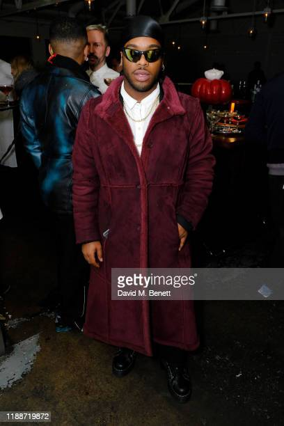 Jason's Closet attends the Man About Town x Reiss dinner at Bistrotheque on November 19 2019 in London England