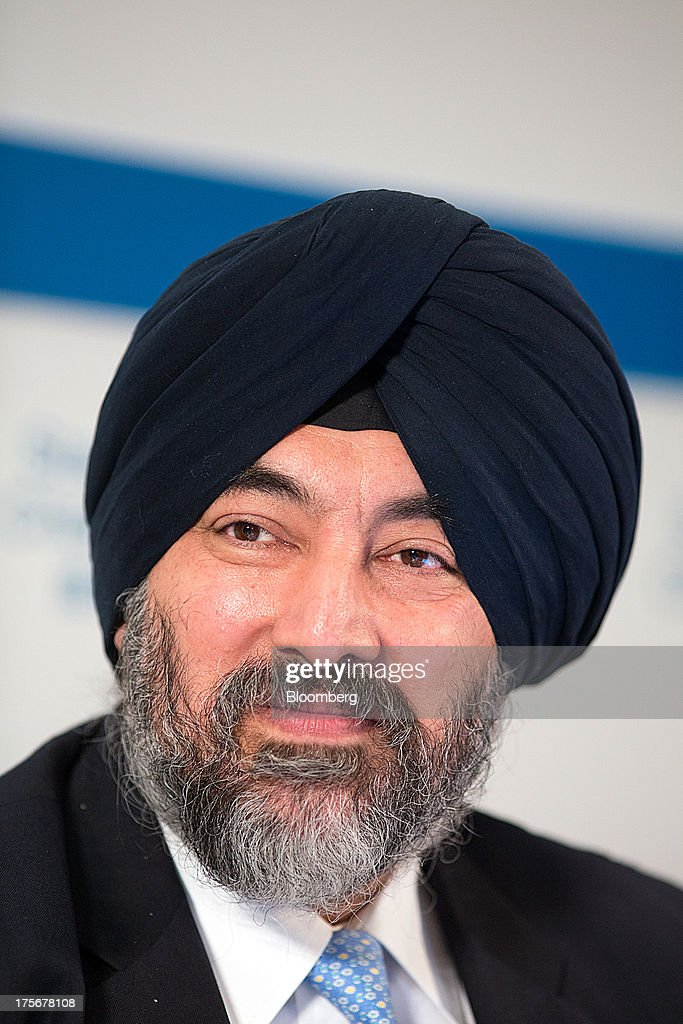 Jaspal Bindra, chief executive officer for Asia at Standard Chartered Plc, pauses during a news conference in Hong Kong, China, on Tuesday, Aug. 6, 2013. Standard Chartered, the U.K. bank that makes about three quarters of its earnings from Asia, posted a 24 percent drop in first-half profit after writing down the value of its Korean business by $1 billion. Photographer: Lam Yik Fei/Bloomberg via Getty Images
