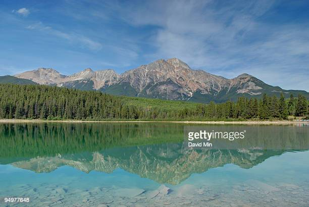 jasper, canada - patricia lake - arkansas stock photos and pictures