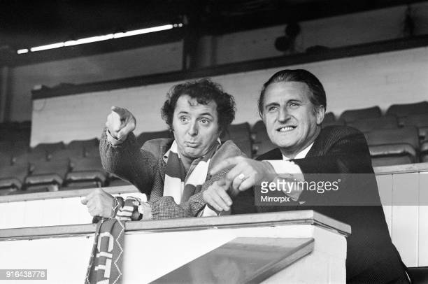 Jasper Carrott, comedian, actor, television presenter, personality and latest Birmingham City boardroom recruit, pictured with club chairman Keith...