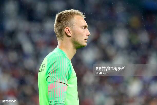 Jasper Cillessen during the friendly football match between Italy and Holland at Allianz Stadium on June 04 2018 in Turin Italy Final result 11