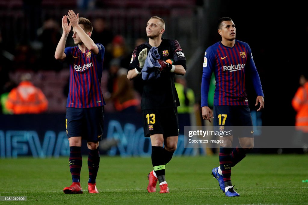 FC Barcelona v Levante - La Liga Santander : News Photo