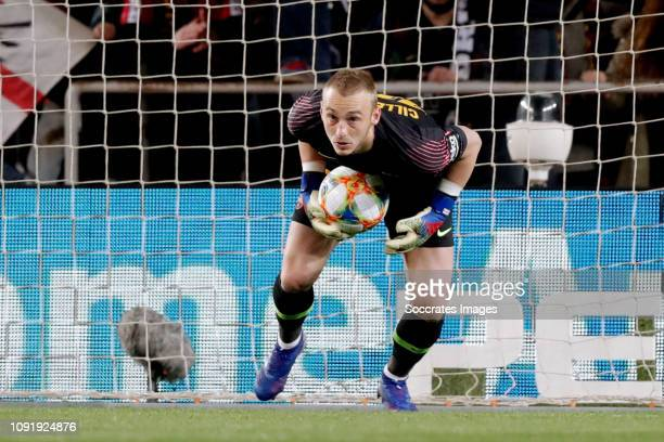 Jasper Cillessen of FC Barcelona during the Spanish Copa del Rey match between FC Barcelona v Sevilla at the Camp Nou on January 30 2019 in Barcelona...