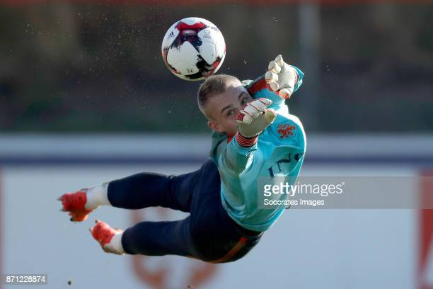 Jasper Cillessen of Holland during the match between Training Holland at the KVV Quick Boys on November 7 2017 in Katwijk Netherlands