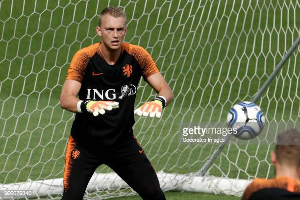 Jasper Cillessen of Holland during the Training Holland at the Stadio Filadelfia on June 2 2018 in Turin Italy