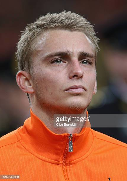 Jasper Cillessen of Netherlands prior to the friendly International match between the Netherlands and Colombia at the Amsterdam Arena on November 19...