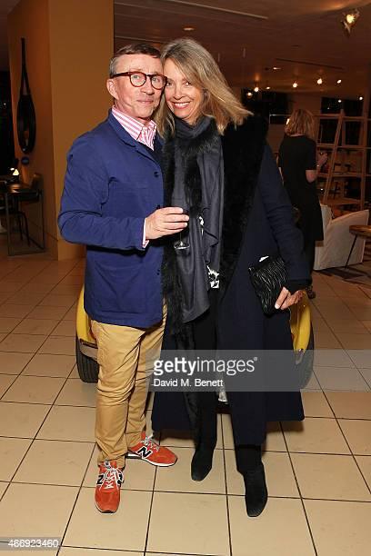 Jasper Conran and Sabrina Guinness attend the launch of Conran Italia at The Conran Shop on March 19 2015 in London England
