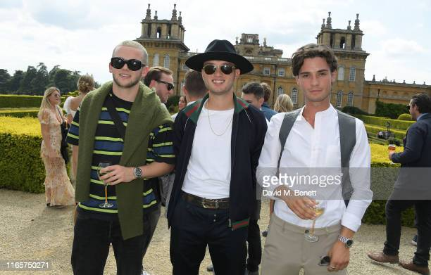 Jasper Ford Rafferty Law and Jack Brett Anderson attend The Gentleman's Journal and Bicester Village Long Summer Lunch on August 02 2019 in Woodstock...