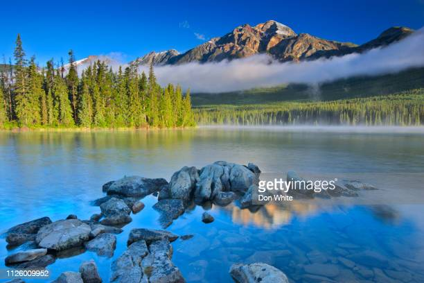 jasper national park in alberta canada - canadian rockies stock pictures, royalty-free photos & images
