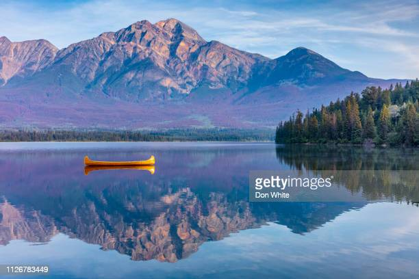 jasper national park in alberta canada - alberta stock pictures, royalty-free photos & images