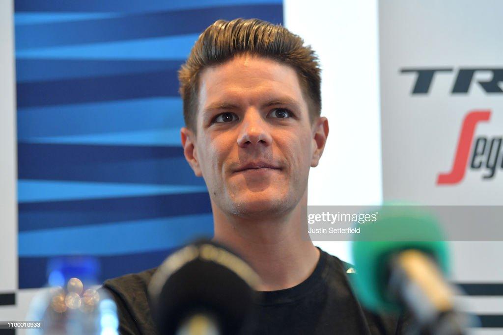 106th Tour de France 2019 - Team Trek-Segafredo Press Conference : ニュース写真