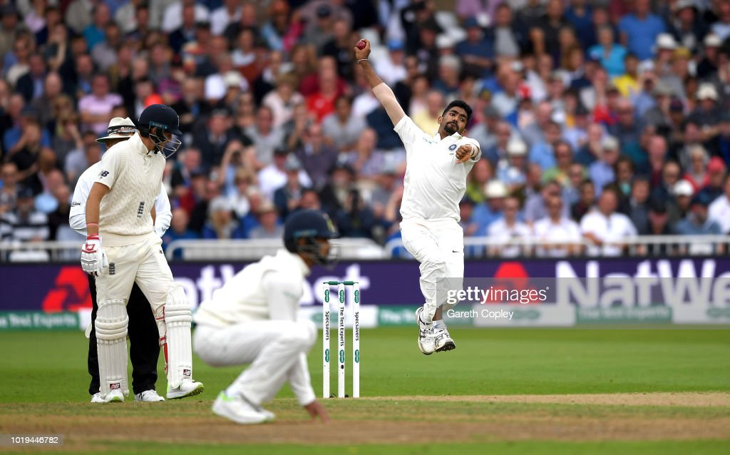England v India: Specsavers 3rd Test - Day Two : News Photo