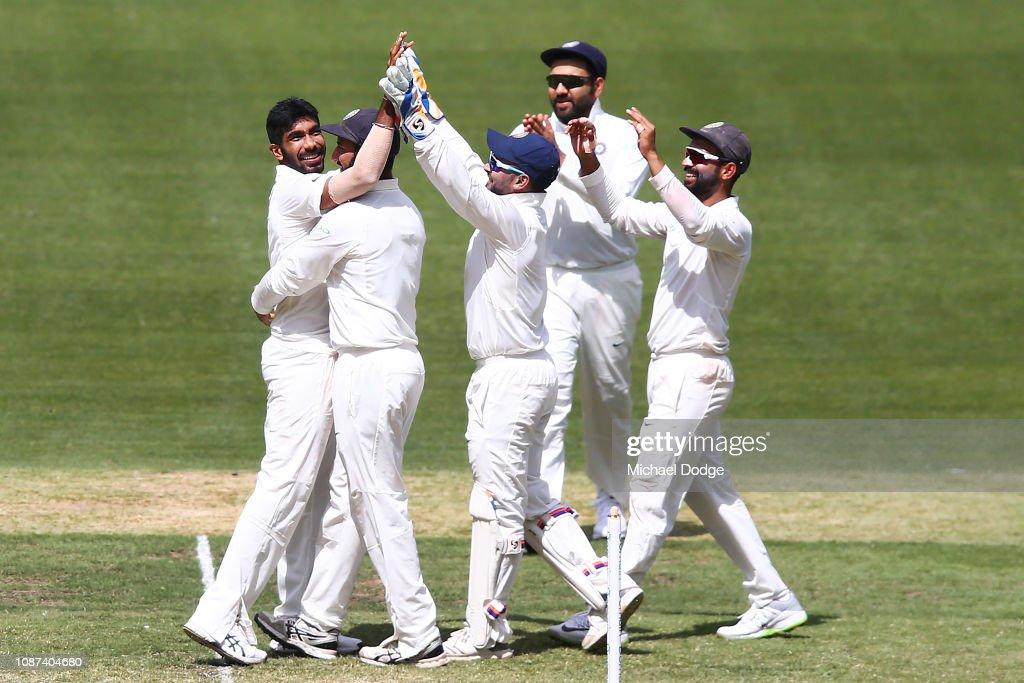 Australia v India - 3rd Test: Day 3 : ニュース写真