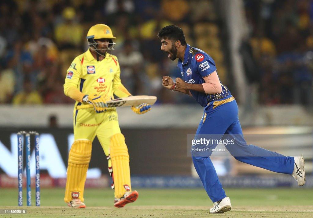 2019 IPL Final - Mumbai v Chennai : News Photo