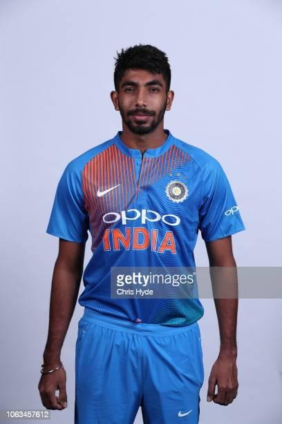 Jasprit Bumrah poses during the India Twenty20 International headshots session at the Brisbane Sofitel on November 19, 2018 in Brisbane, Australia.