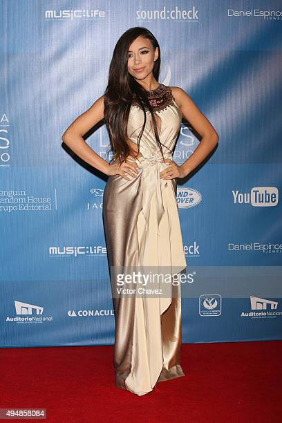 Jass Reyes attends Lunas Del Auditorio Nacional 2015 at Auditorio Nacional on October 28 2015 in Mexico City Mexico