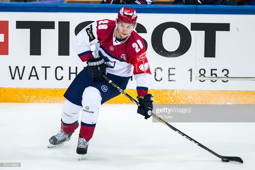 TPS Turku v IFK Helsinki - Champions Hockey League : News Photo