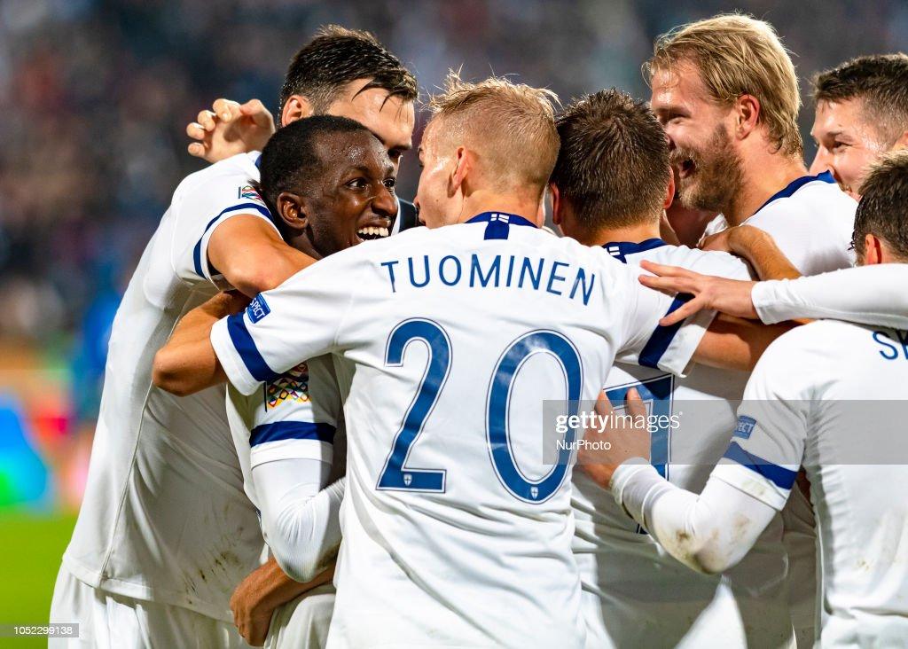 Finland v Greece - UEFA Nations League C : News Photo