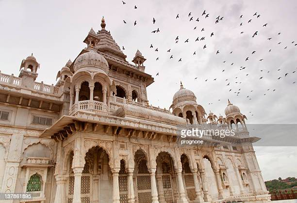 jaswant thada - jodhpur stock pictures, royalty-free photos & images
