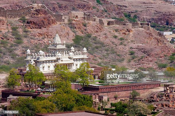 Jaswant Thada the Maharaja of Jodhpur Memorial built 1906 at Jodhpur in Rajasthan Northern India