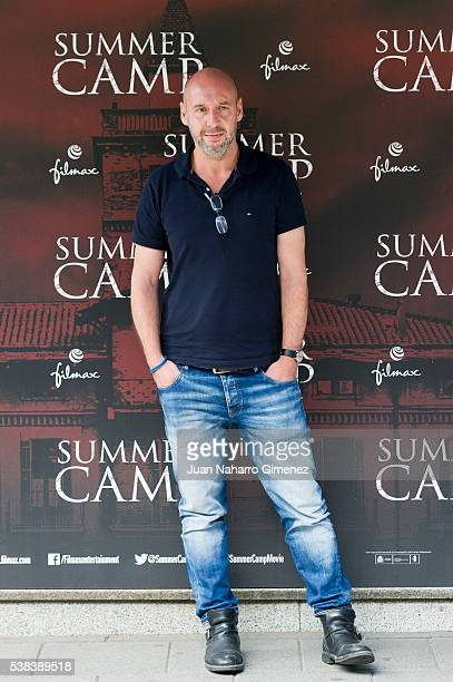 Jaume Balaguero attends 'Summer Camp' photocall at Paz Cinema on June 6 2016 in Madrid Spain