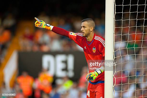 Jaume Domenech during the match between Valencia CF against Real Betis week 4 of La Liga 2015/16 in Mestalla stadium Valencia SPAIN 2015 september 15