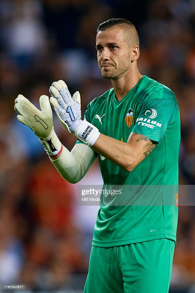 Jaume Domenech Of Valencia Cf Reacts During The Bwin Trofeo Naranja News Photo Getty Images