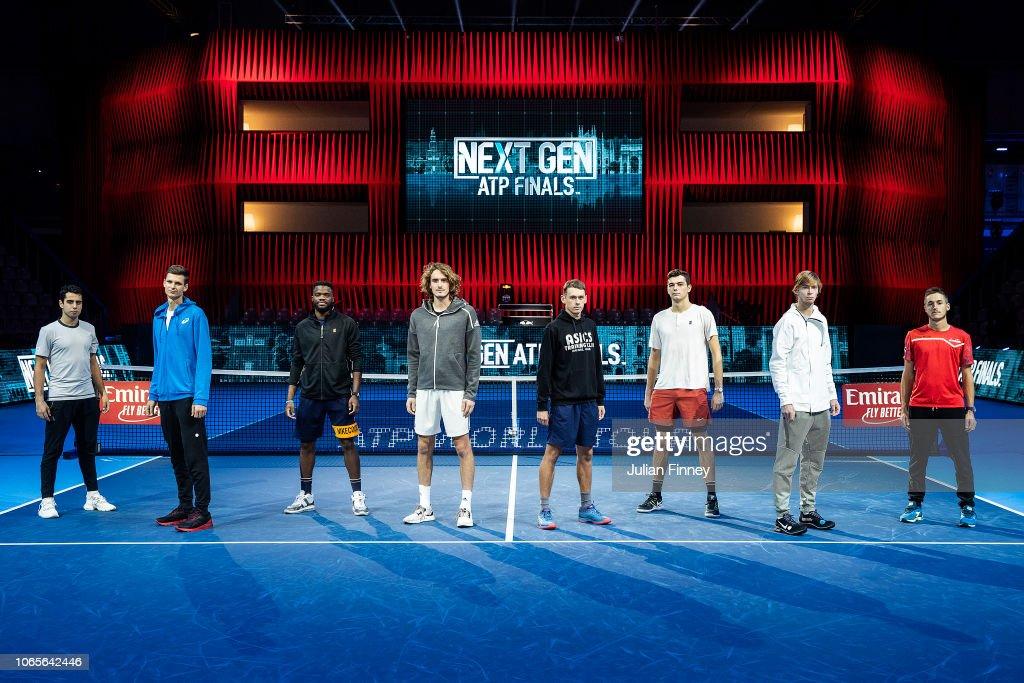 Next Gen ATP Finals - Day Three : Nachrichtenfoto