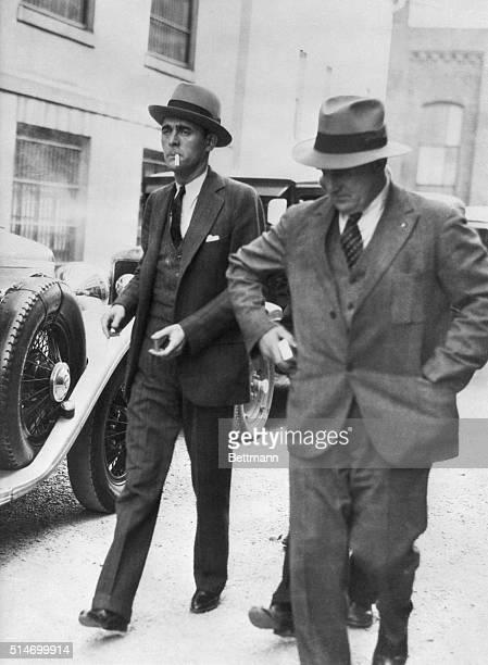 4/23/1931 A jaunty Jack Legs Diamond walks down the street