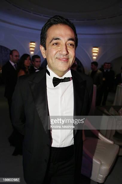 Javad Marandi arrives at the launch of the Four Seasons Hotel Baku on November 17 2012 in Baku Azerbaijan