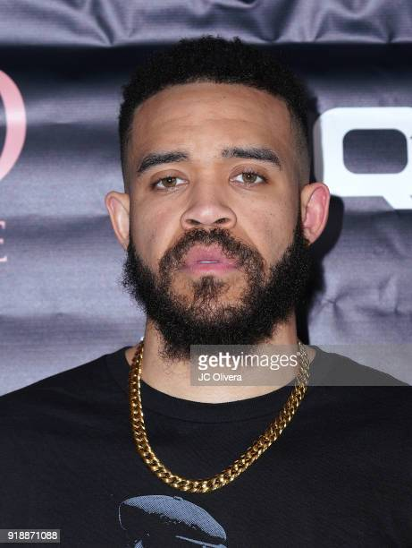 JaVale McGee attends Regard Magazine 2018 NBA AllStar PreParty hosted by Derek Fisher at Soho House on February 15 2018 in West Hollywood California