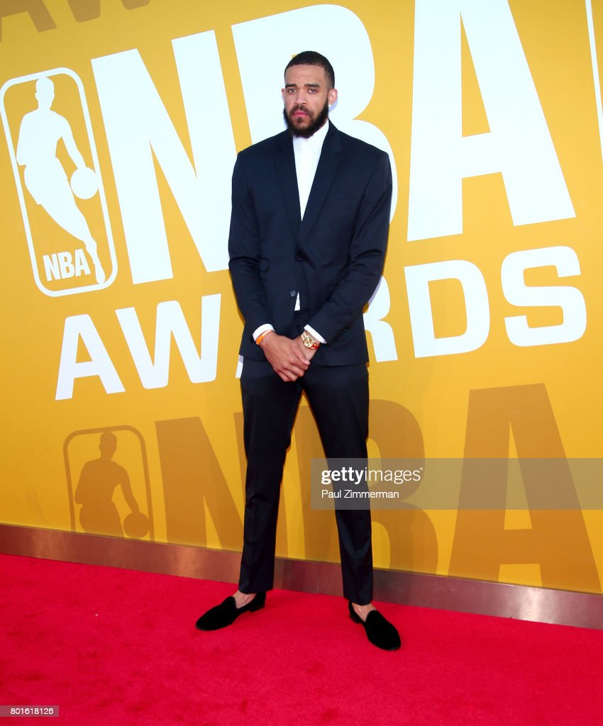 JaVale McGee attends the 2017 NBA Awards at Basketball City - Pier 36 - South Street on June 26, 2017 in New York City.