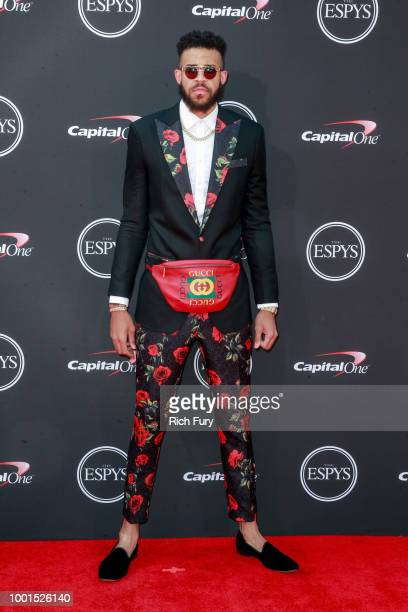 JaVale McGee attends the 2018 ESPYS at Microsoft Theater on July 18 2018 in Los Angeles California