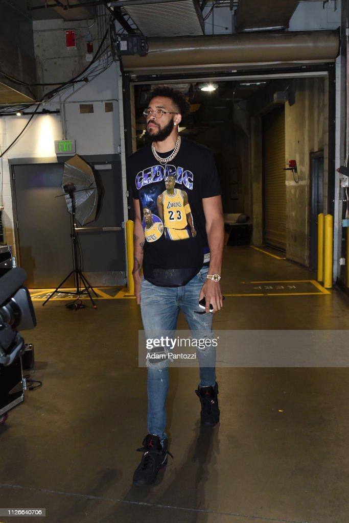 CA: Houston Rockets v Los Angeles Lakers