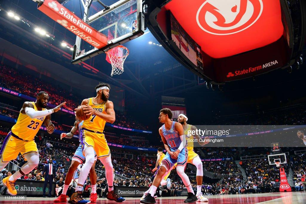 Los Angeles Lakers v Atlanta Hawks : News Photo