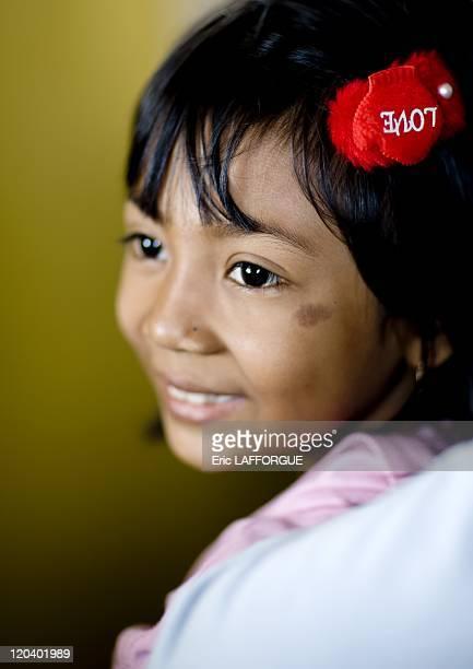 Javanese girl in Java Indonesia on July 27 2008