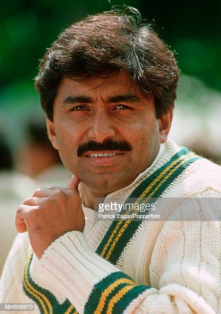 Javed Miandad of Pakistan during the tour match between Lavinia Duchess of Norfolk's XI and Pakistan at Arundel 3rd May 1992