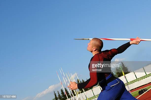 javelin - やり投げ ストックフォトと画像