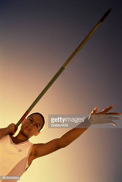 javelin throw - men's field event stock pictures, royalty-free photos & images
