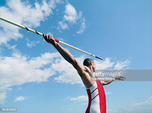 javelin thrower - javelin stock pictures, royalty-free photos & images