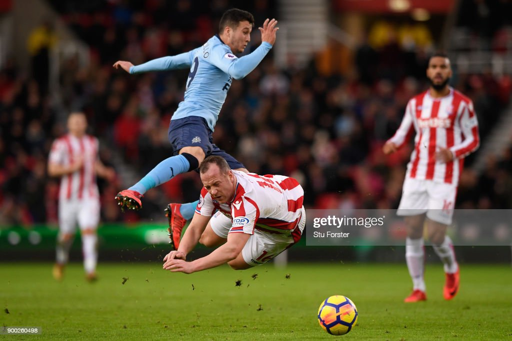 Stoke City v Newcastle United - Premier League : Foto jornalística