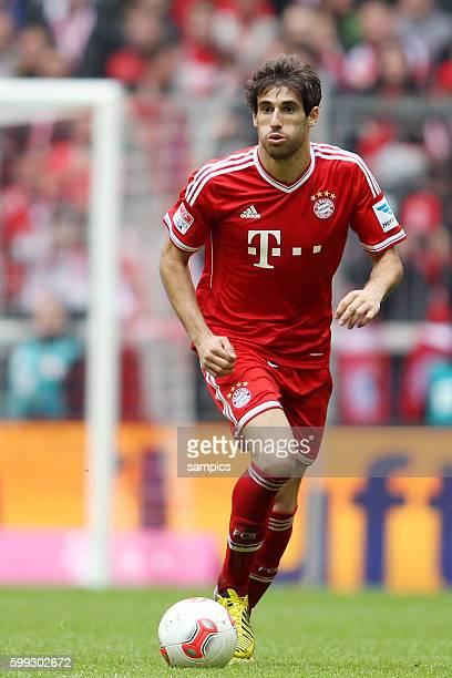 Javi Martinez FC Bayern München 1 Bundesliga Fussball FC Bayern München - FC Augsburg 3:0 Deutscher Fussball Meister 2013 Feierlickeiten Saison 2012...