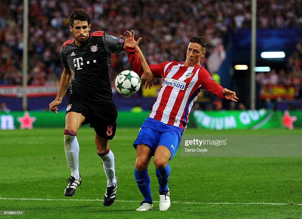 Club Atletico de Madrid v FC Bayern Muenchen - UEFA Champions League : News Photo