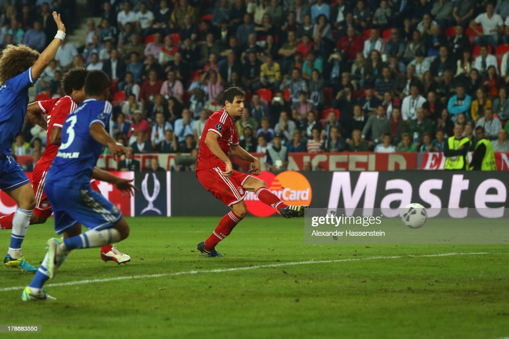 Bayern Muenchen v Chelsea - UEFA Super Cup : News Photo
