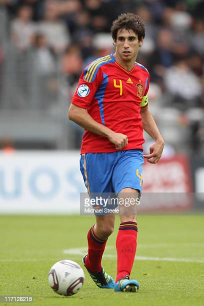 Javi Martinez of Spain during the UEFA European Under21 Championship semifinal match between Belarus and Spain at the Viborg Stadium on June 22 2011...