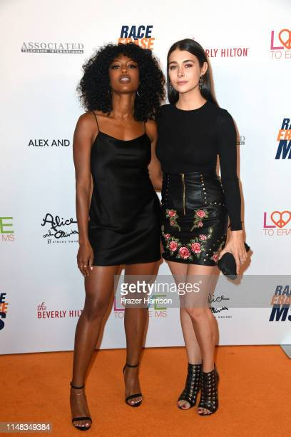 Javicia Leslie and Allison Paige attend the 26th annual Race to Erase MS on May 10 2019 in Beverly Hills California